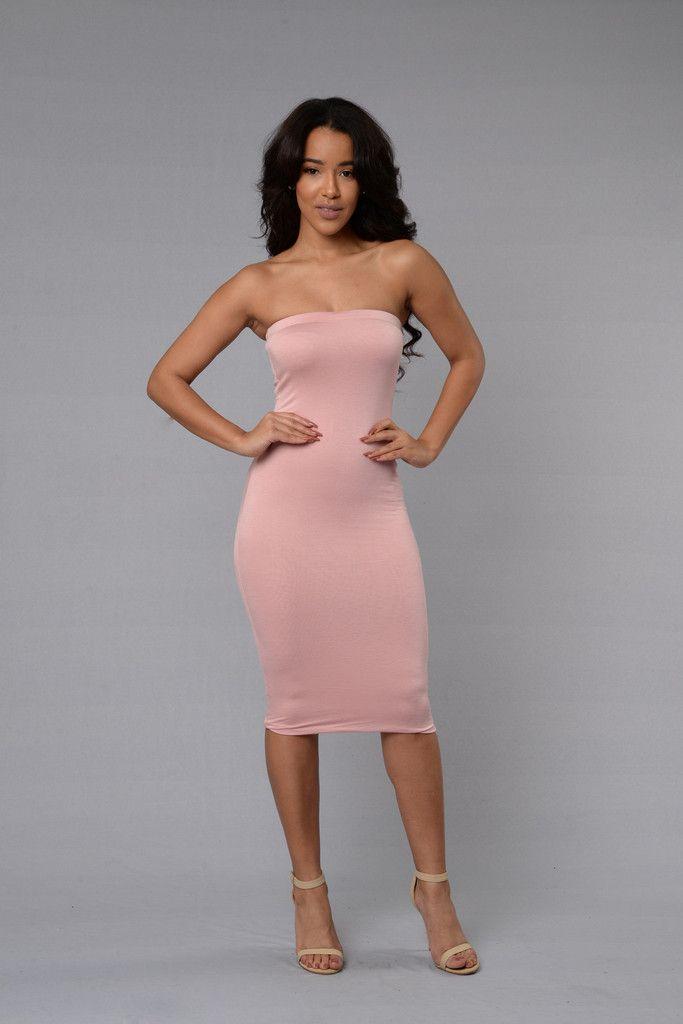 Peekaboo Dress Fashion Nova