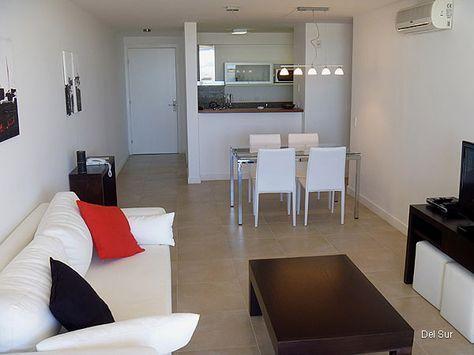 24 awesome cocina living comedor integrados decoracion for Cocinas departamentos modernos