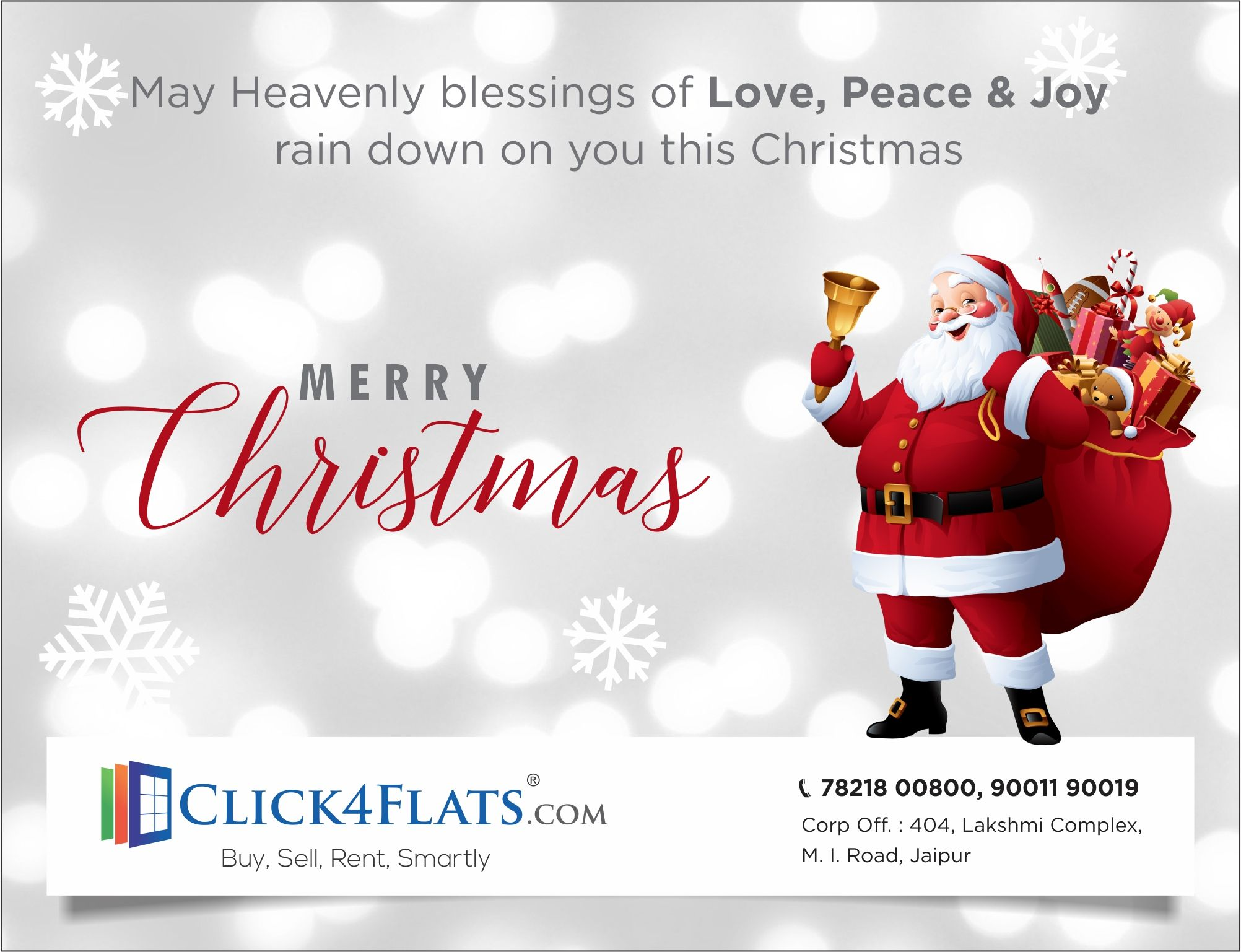 Merry Christmas From Click4flats Com Merry Christmas To You Merry Christmas Happy Memories