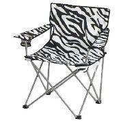 Zebra Folding Camping Chair | Camping chairs, Folding