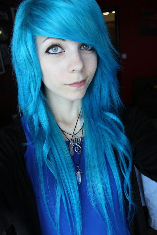 Girls With Blue Hair Punk Hair Blue Hair