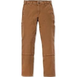 Photo of Carhartt Rugged Flex Stretch Twill Double Front Damen Hose Braun 39 Carhartt