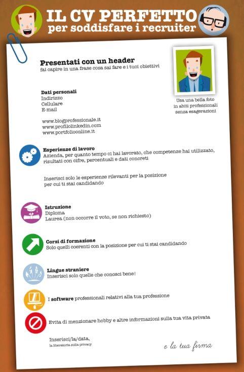 Un #CV perfetto in pochi minuti! Cliclavoro - Blog Cliclavoro - creative resume headers