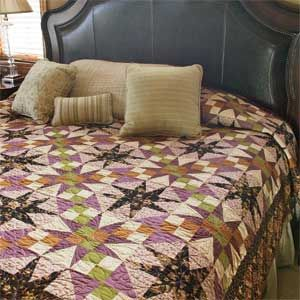 Amethyst: Traditional Star Bed Quilt Pattern Designed by SARAH ... : mccalls quilting - Adamdwight.com