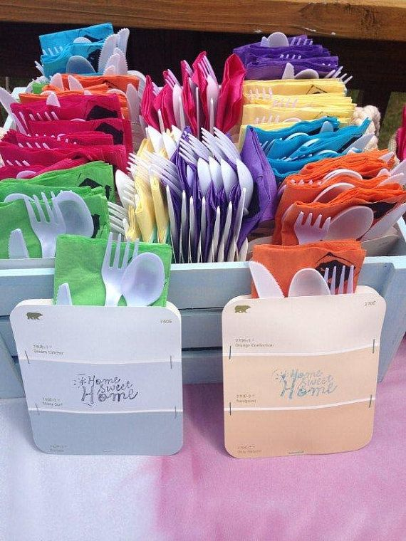 House Warming Party Utensil Holder By Monies On Etsy - Camping party favors housewarming party pinterest