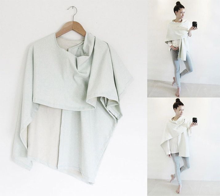 Nähanleitung: 3 IN 1 - Kimono | DIY: Clothes | Sewing, Sewing ...