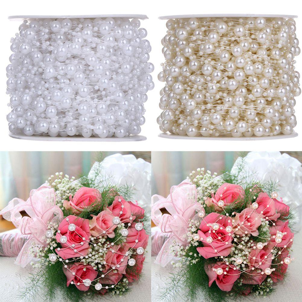 Blumen Perlen Girlande Basteln Schmuck Hochzeit Deko Perlen Kette