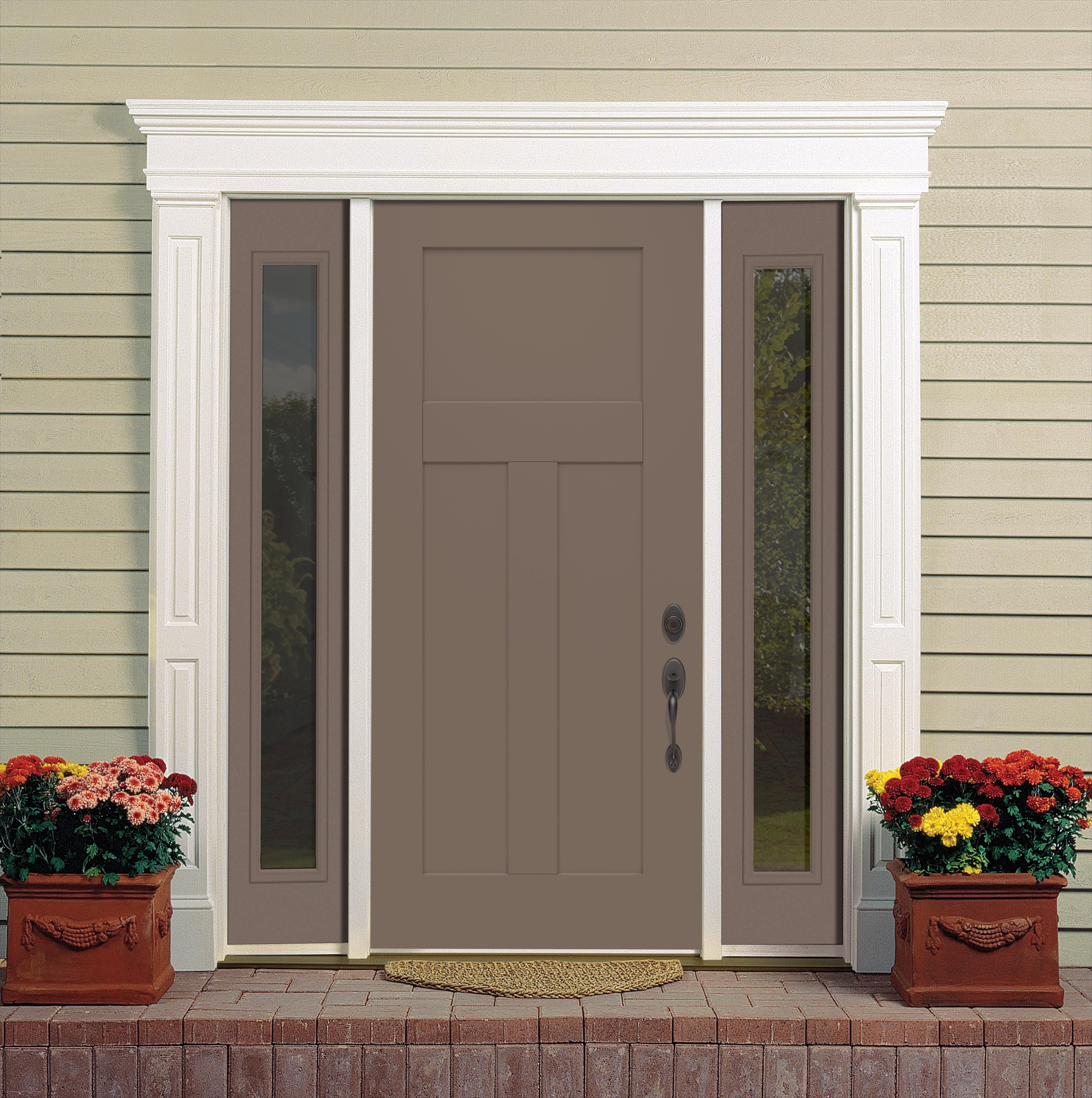 The first #door that blends the security and durability of steel with stylish craftsman design.