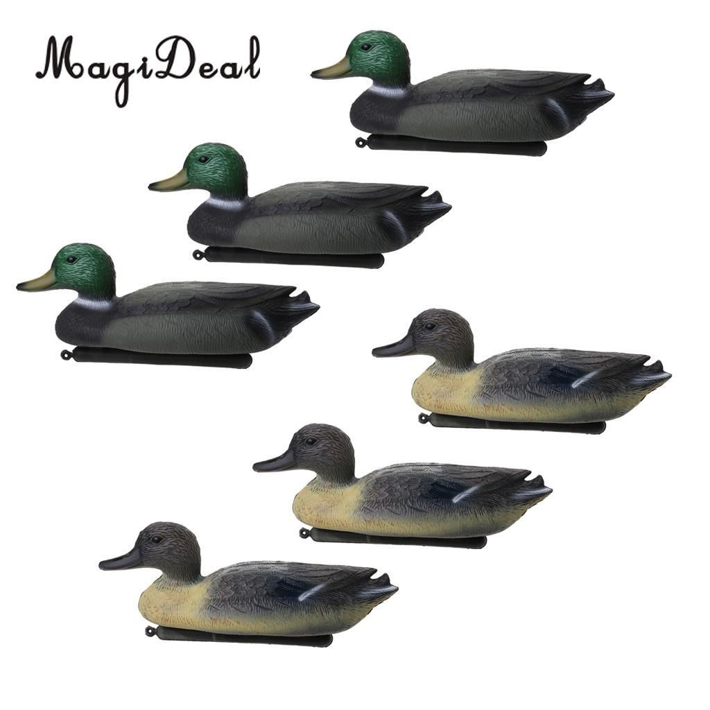 Duck Decoy Floating Lure For Outdoor Fishing Floating Keel Hunting Decoy Fishing