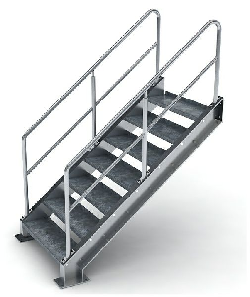 Lovely Residential Steel Stairs