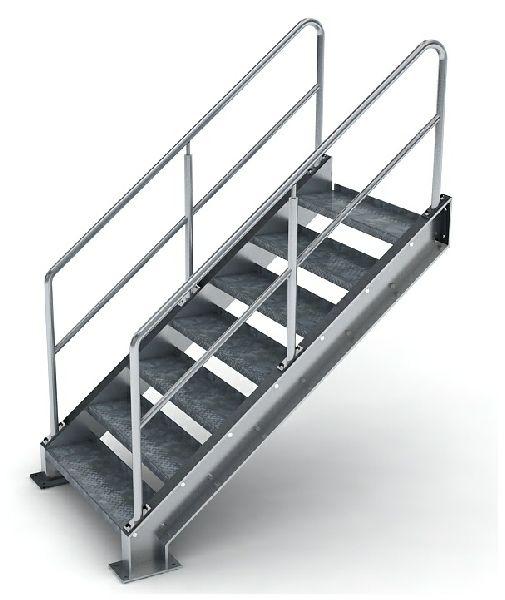 Residential Steel Stairs | Home | Pinterest | Steel stairs ...