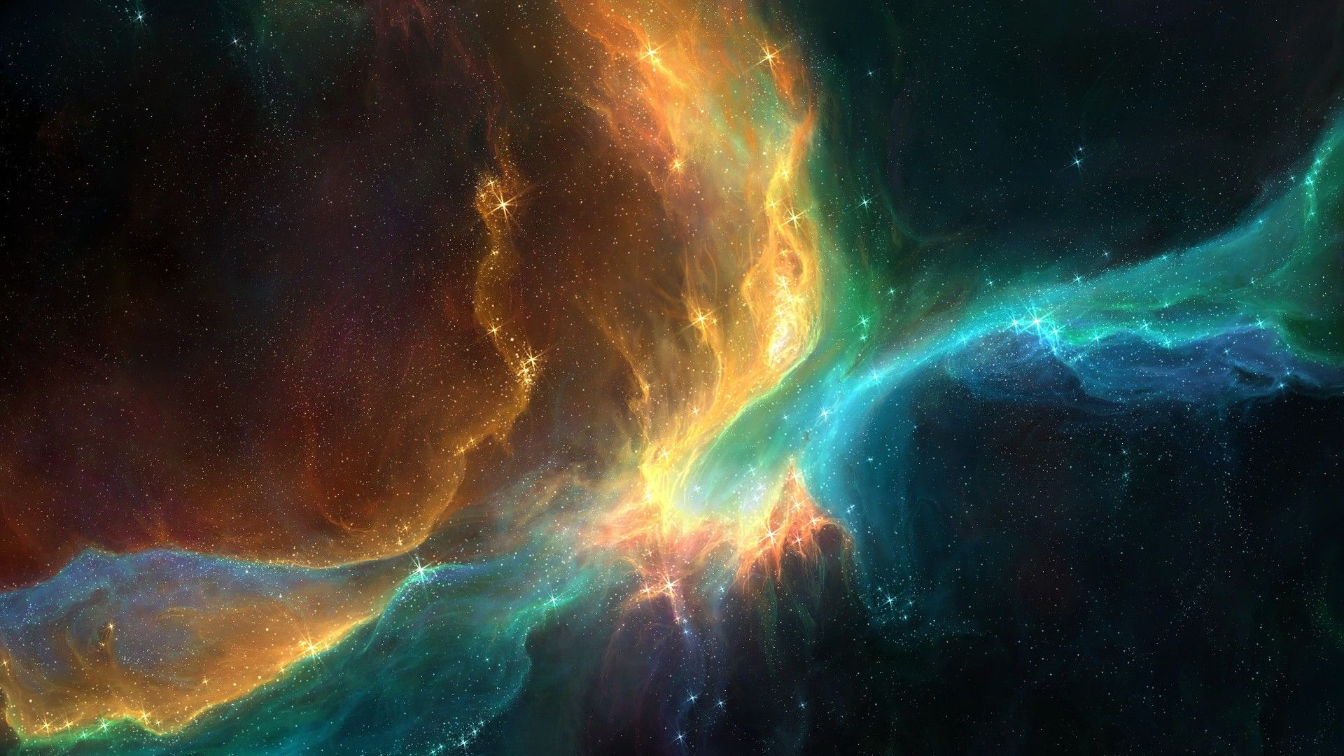 Outer Space Nebula Wallpaper Widescreen 2 HD Wallpapers