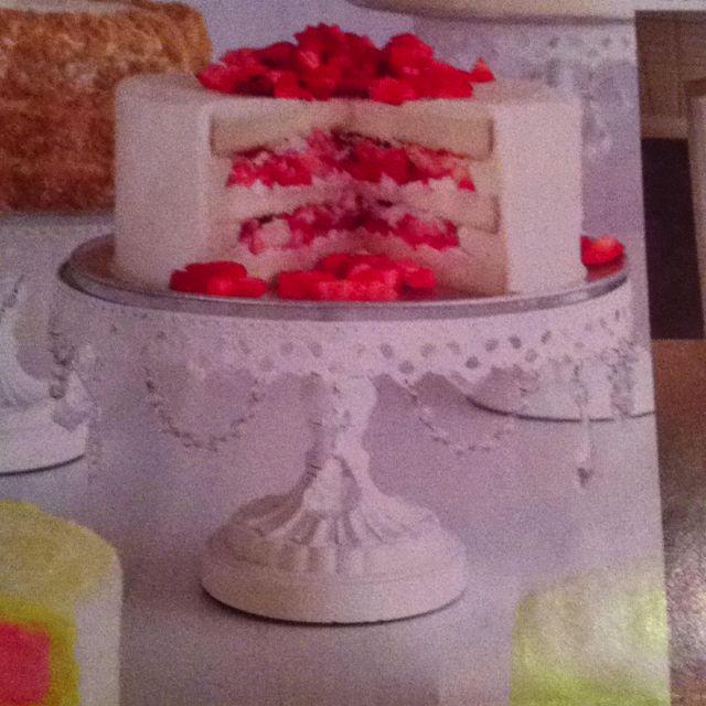 Strawberry Buttercream Cake Maxie B