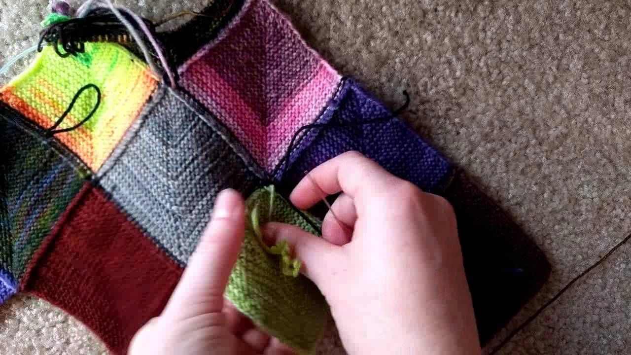 Youtube Wolldecke Stricken Ladybug Laboratory Blanket Tutorial 4 Dealing With Ends