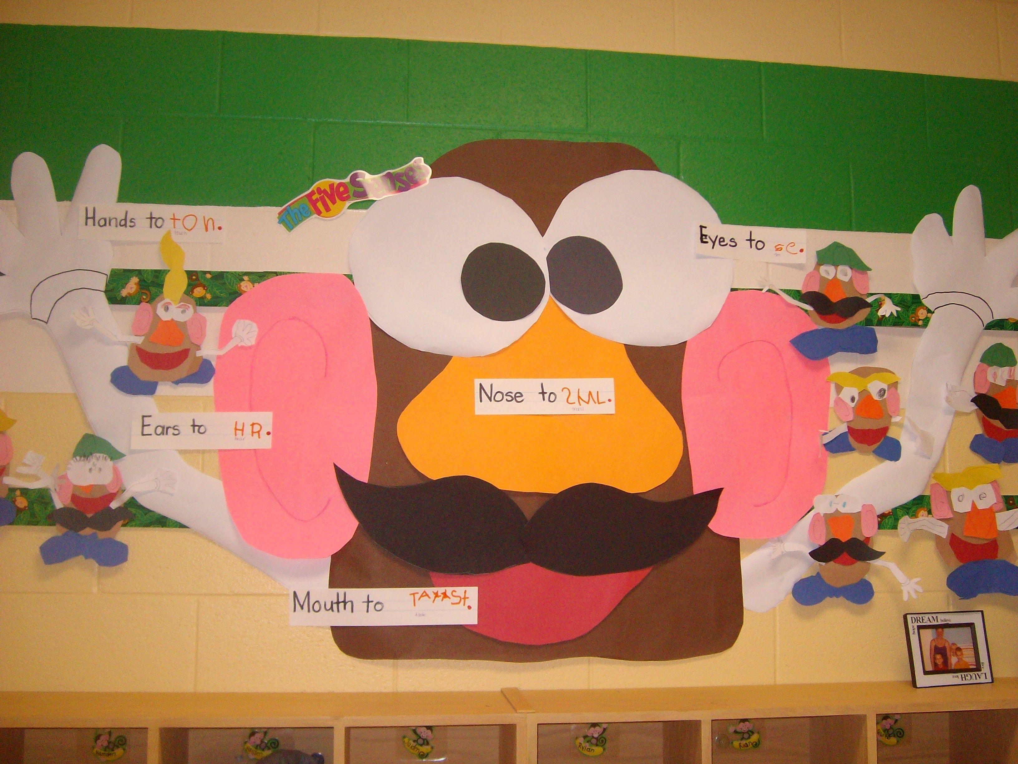 Our Mr Potato Head Five Senses Interactive Writing And