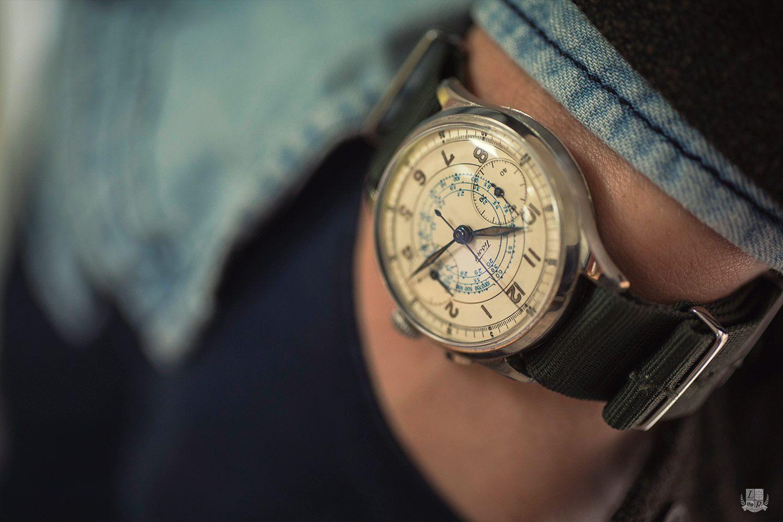 Découverte d'un chronographe Tissot des années 50, l'âge d'or de la marque helvétique aujourd'hui davantage considérée entrée de gamme.