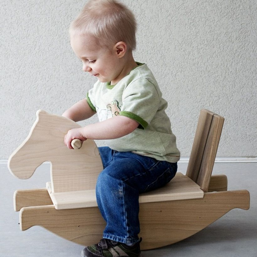wooden toys little sapling toys wooden horse 70 holzspielzeug pinterest holzspielzeug. Black Bedroom Furniture Sets. Home Design Ideas