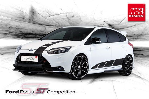 Ms Design Will Unveil Ford Focus St Competition Kit In Geneva