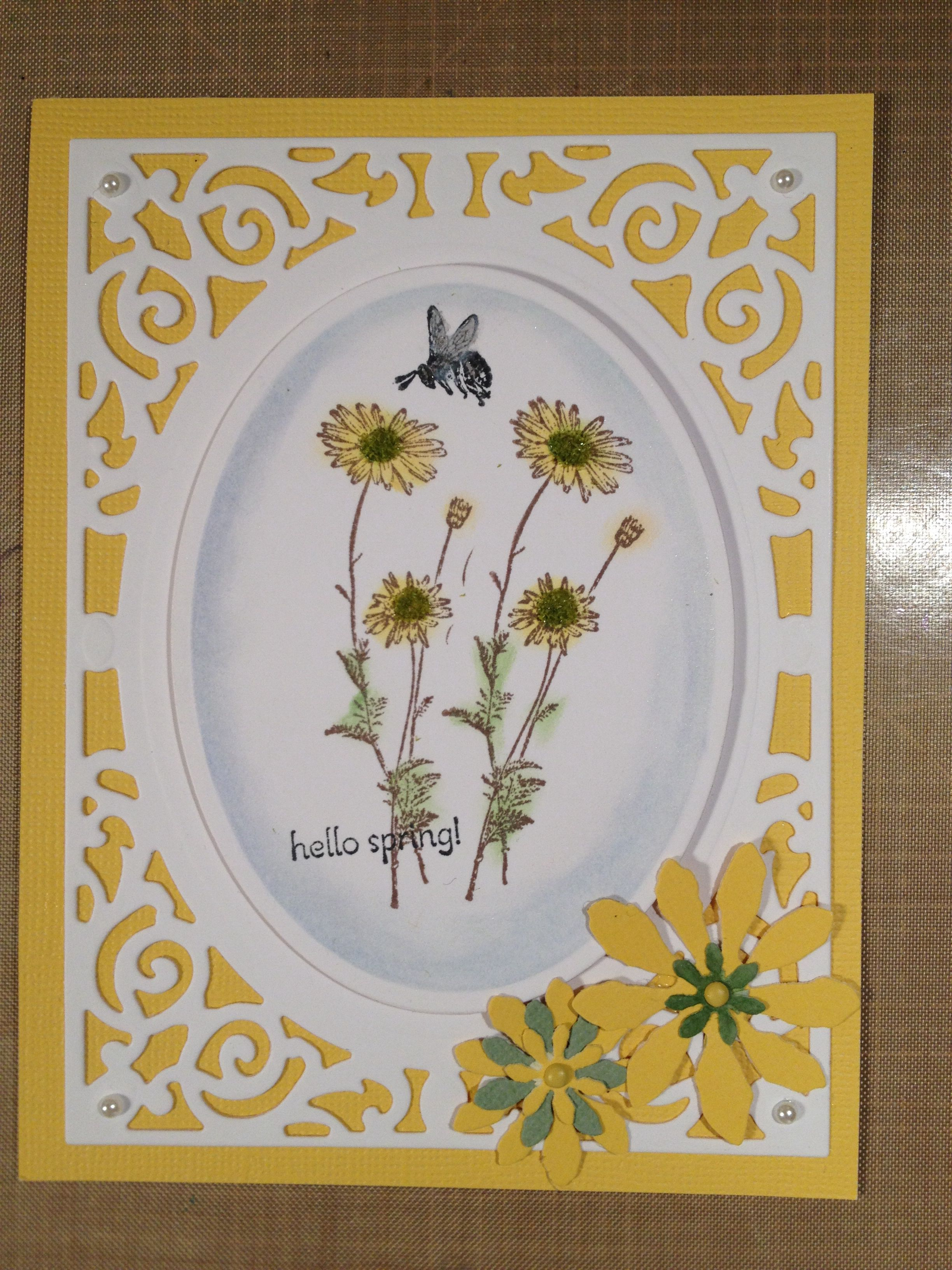 Filigree delight from Spellbinders | Cards- mine ...
