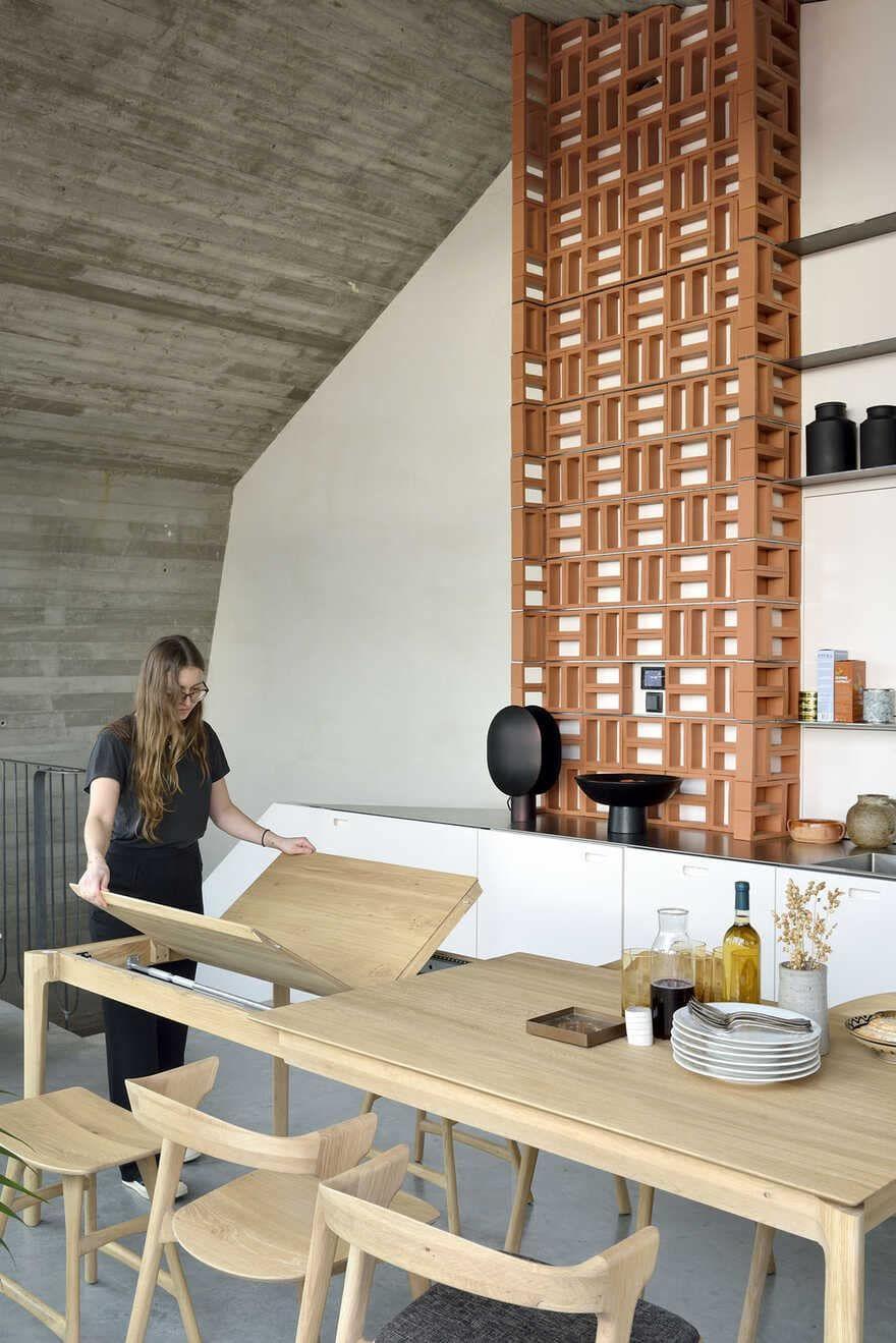 Mini Loft In The Heart Of The City Of Leuven In Belgium In 2020 Small Apartment Design Apartment Design Home Decor