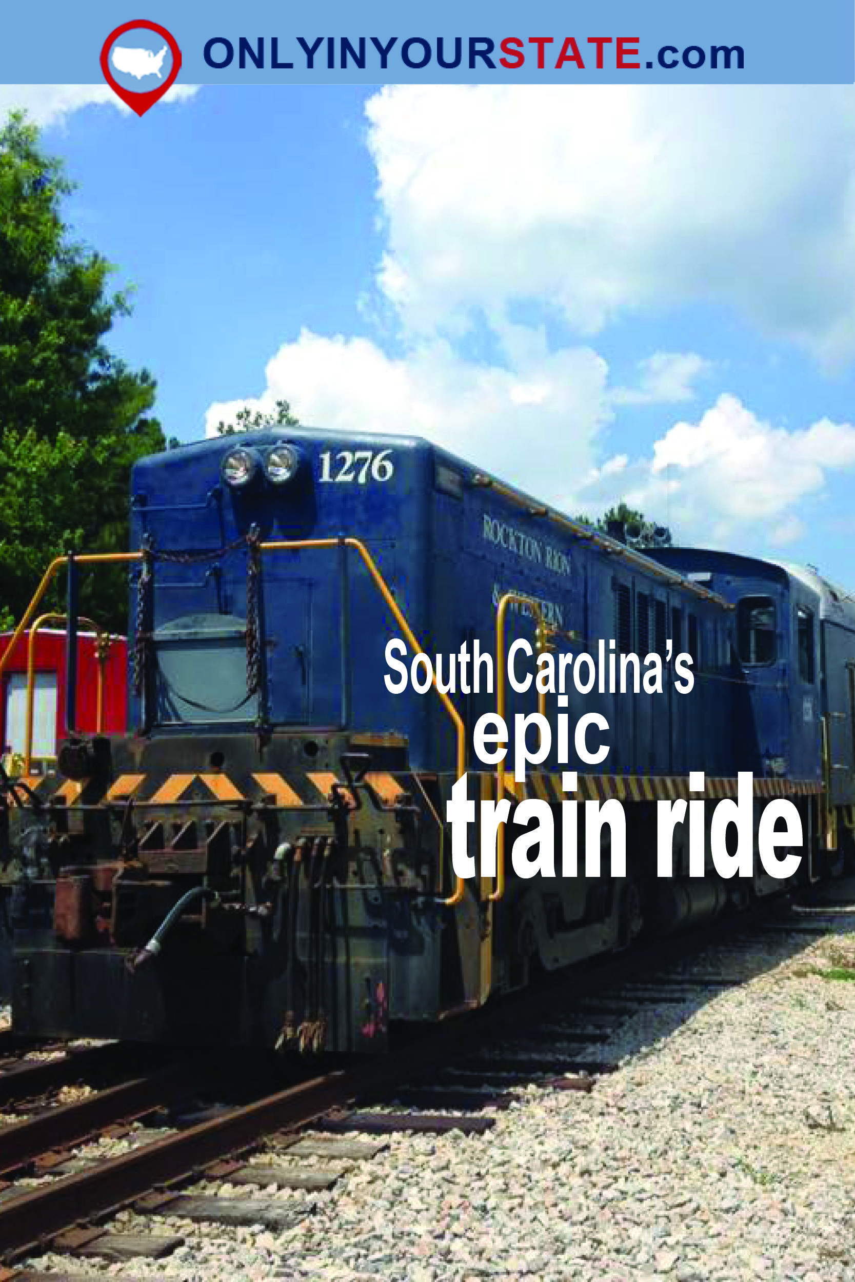 Travel South Carolina Attractions Activities Things To Do Site Seeing Train Ride Family Friendly Unique Explore
