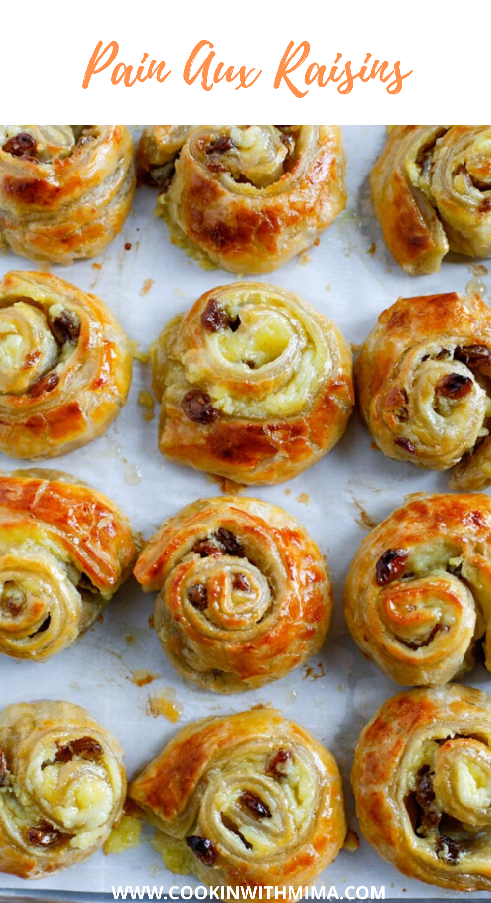 Photo of Easy Pain Aux Raisins