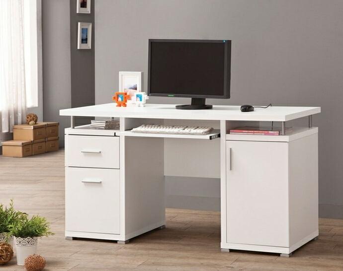 White Desk With File Cabinet Google Search White Computer Desk Computer Desks For Home Contemporary Computer Desk White desk with filing cabinet