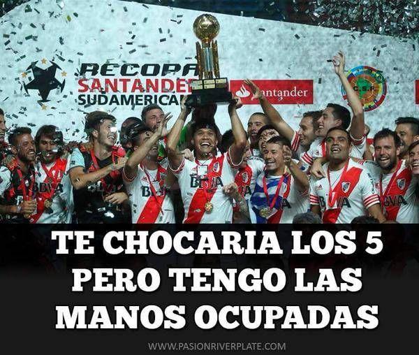 River Plate Campeon Copa Sudamericana Cargadas A Boca Club Atletico River Plate River Campeon