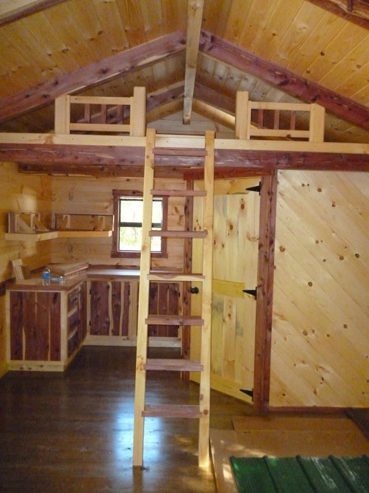 Trophy amish log cabins builds some super cute tiny homes for Amish house builders