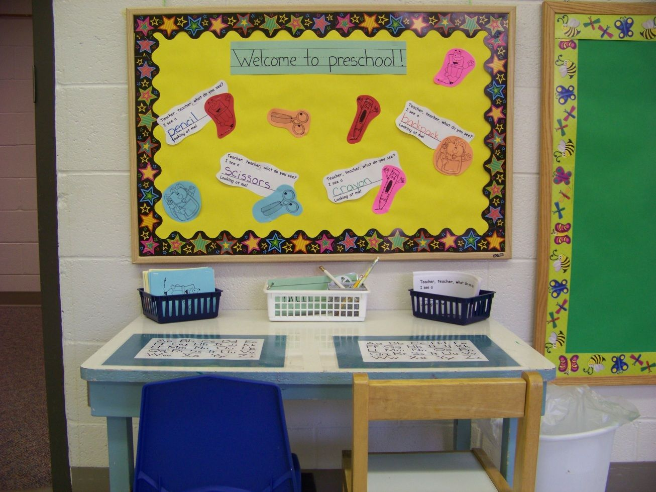 Classroom Writing Ideas ~ Getting ready for preschool part one the writing center