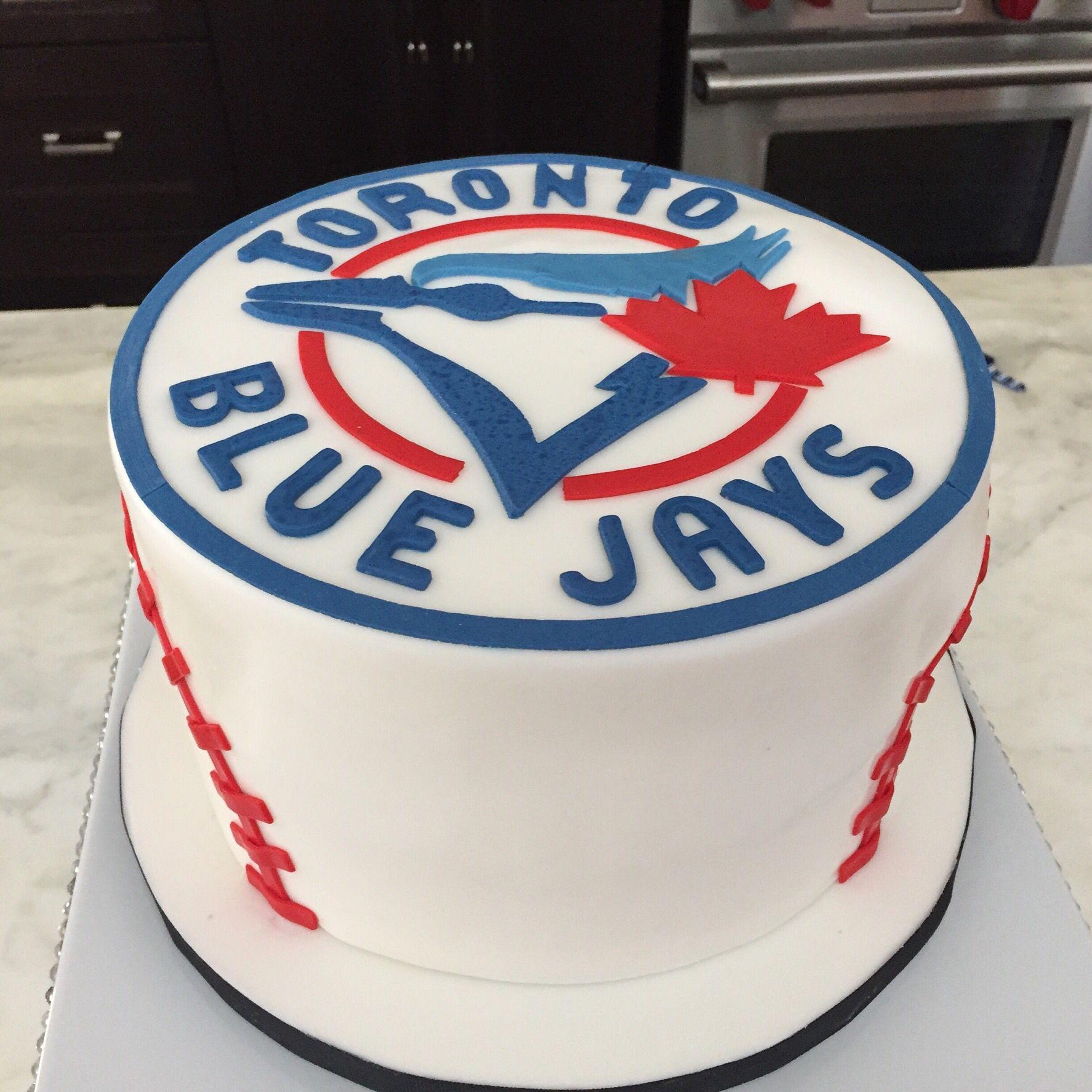 Blue jays cake for my husbands birthday Cakes Pinterest Jay