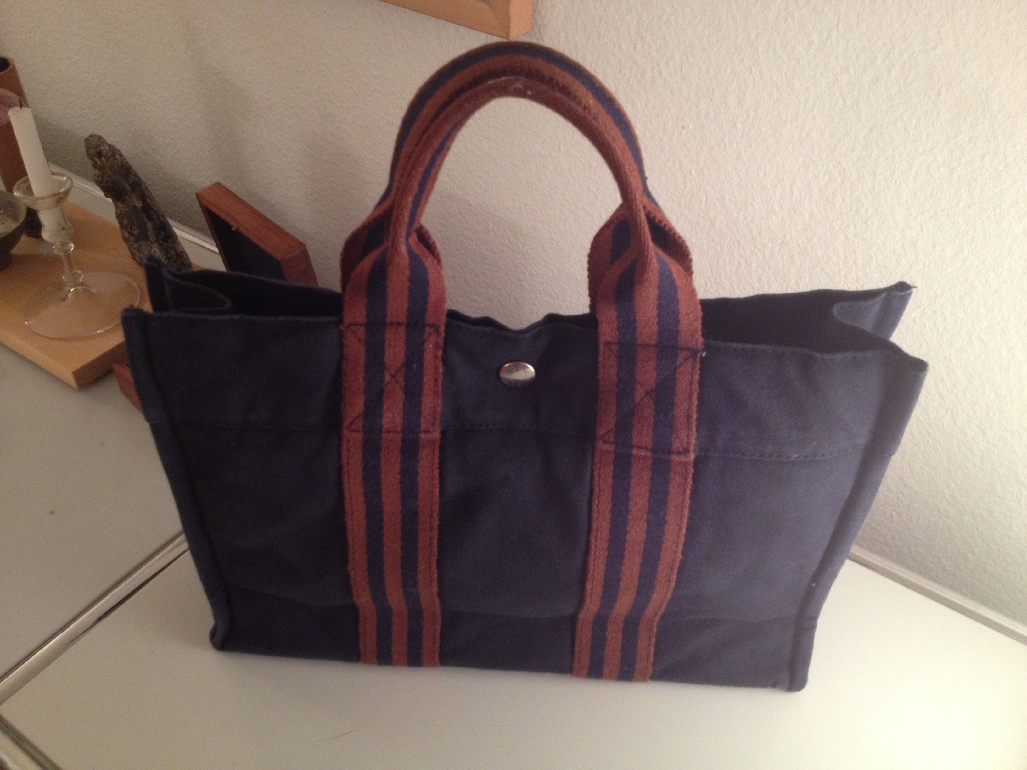 My little Hermes laptop bag..forgot the name...  7a4ed425a5f18