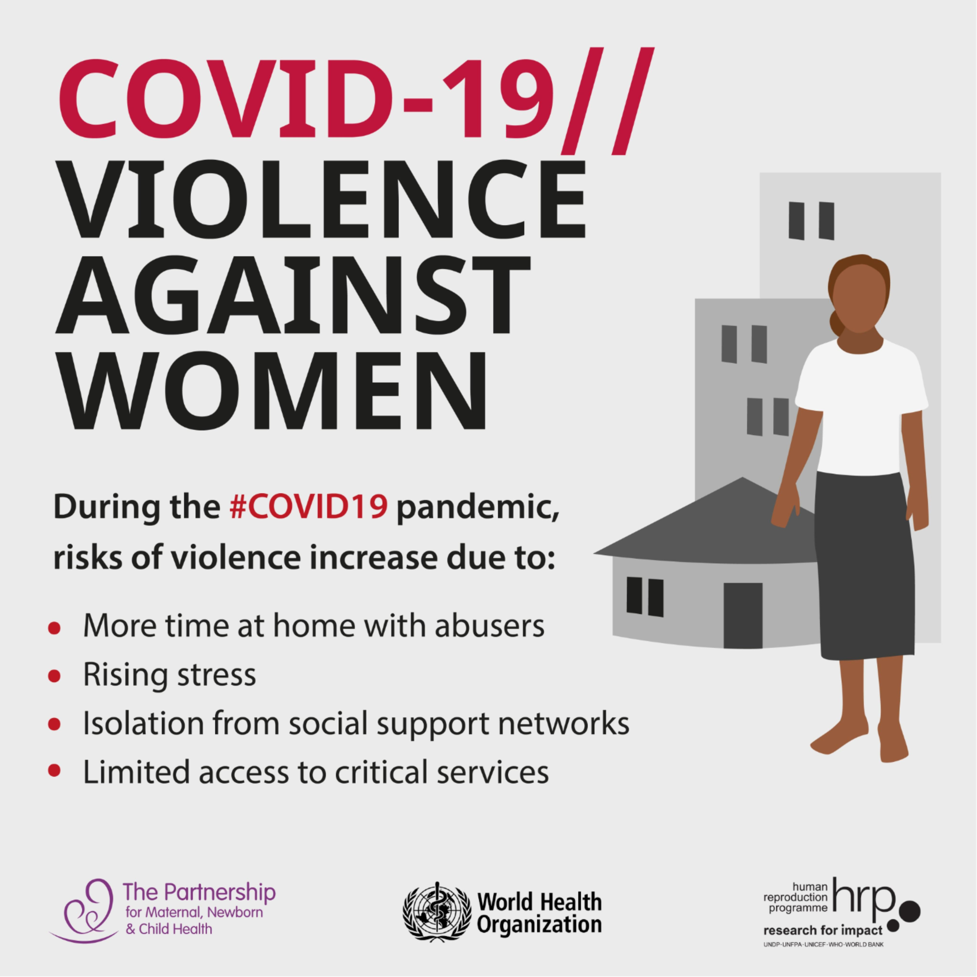 During the COVID19 pandemic, risks of violence increase