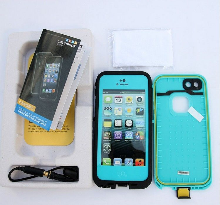 Lifeproof Case For The Iphone 5 Tealblack Cute Cases Pinterest