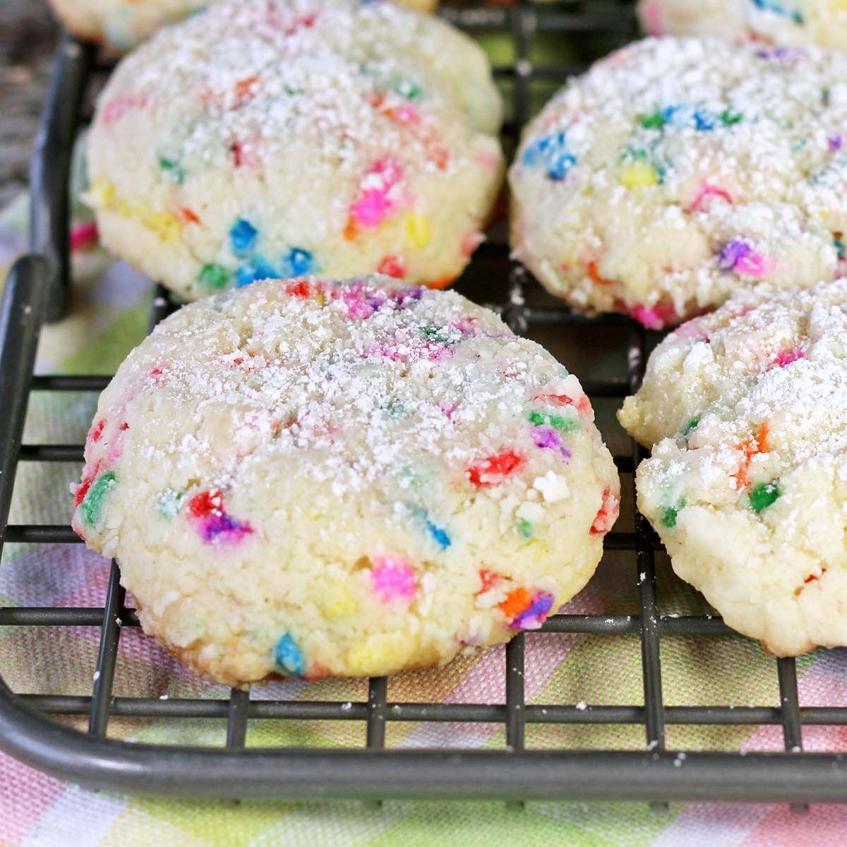 Vanilla Funfetti Cookies