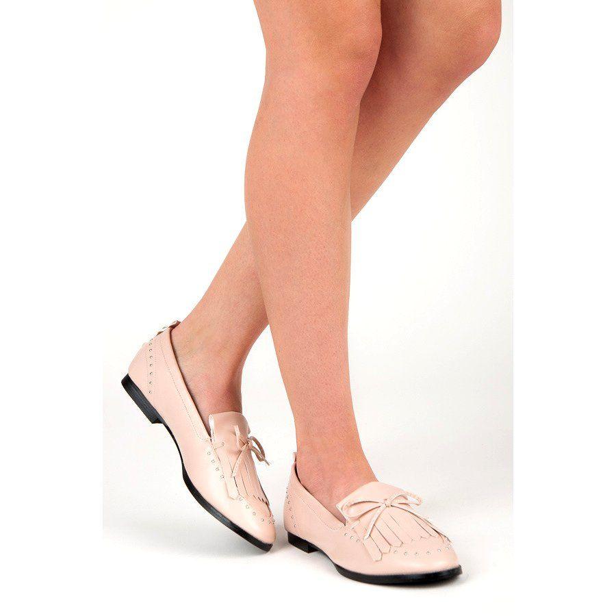 Seastar Stylowe Mokasyny Na Wiosne Rozowe Shoes Heels Kitten Heels