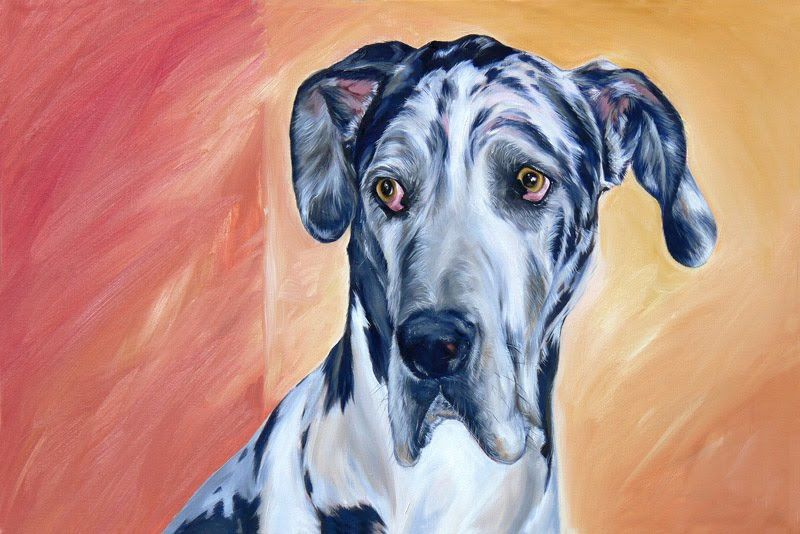 Great eyes painting animals art