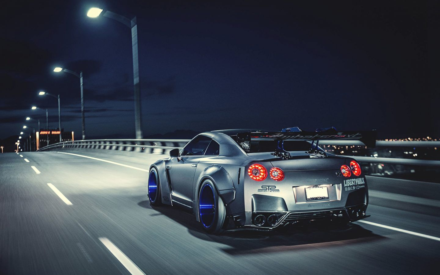 Nissan Gtr Liberty Walk 4k Hd Wallpaper Coches Pinterest