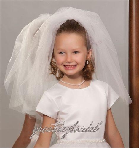 First Communion Veil 1100 > Girls First Communion Veils Collection > 1st Communion Veils
