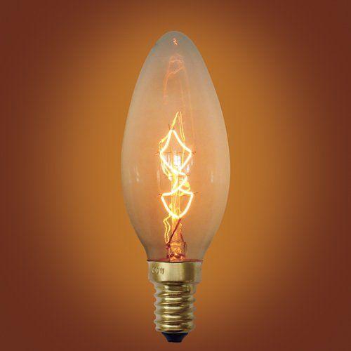 Urbanest Spiral Loop Incandescents Vintage Edison Bulb E12 Candelabra Base 40 Watt