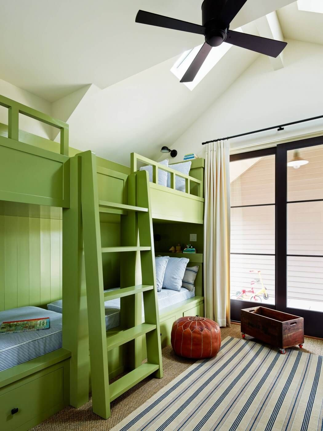 Built in loft bed ideas  Laguna de Santa Rosa by Wade Design Architects  Design architect