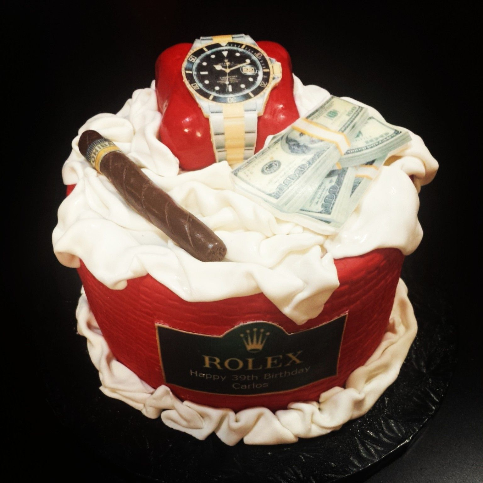 Rolex Cakeperfect Gift For Your Fatherbrotherhusbandboyfriend