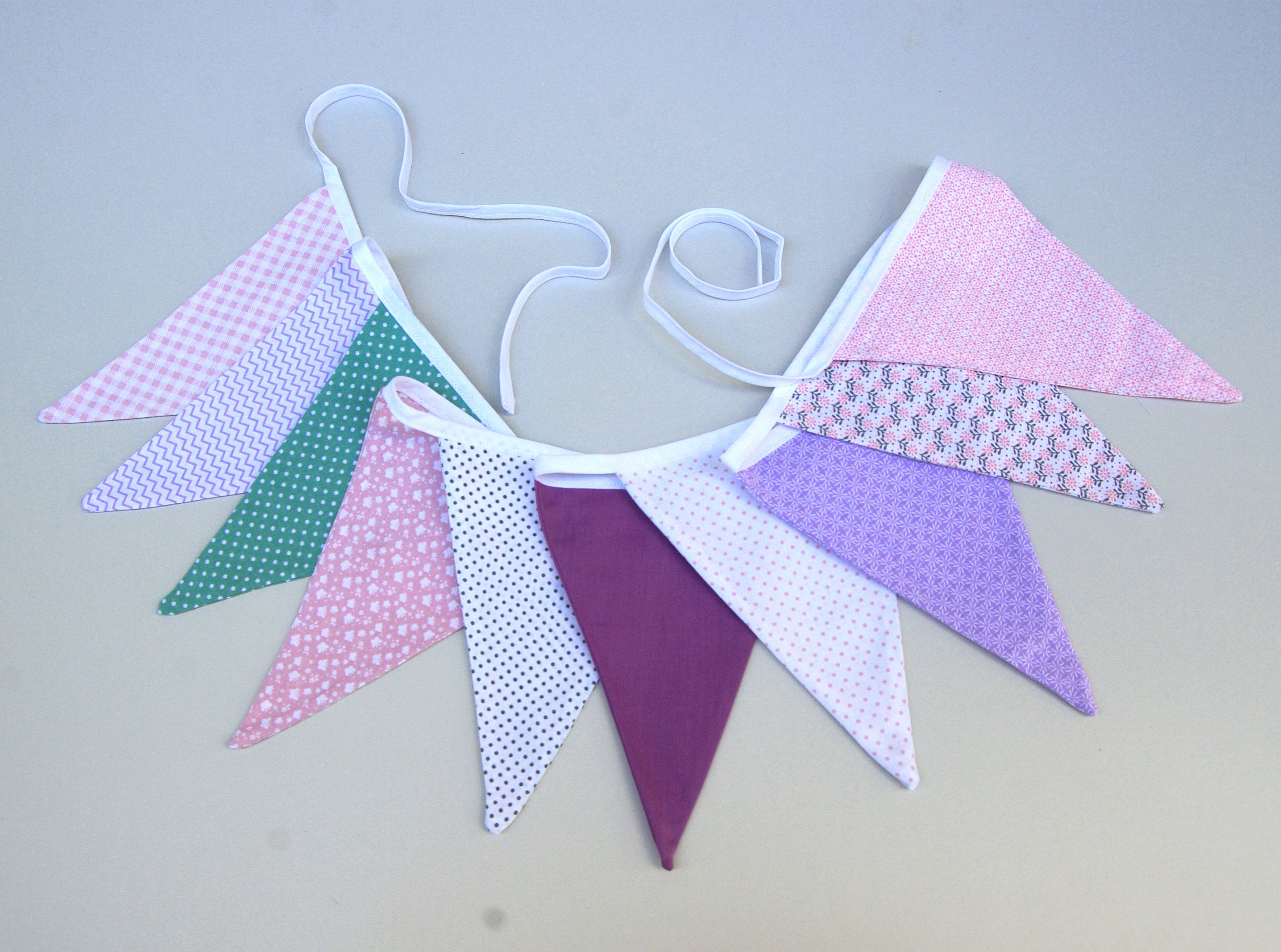 Bunting Banner Flags Nursery Decor Garland Room Party
