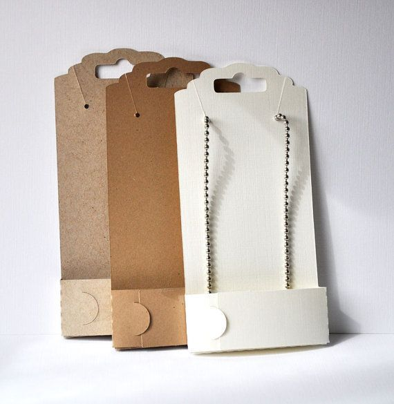 Jewelry Necklace Display Card Necklace Packaging
