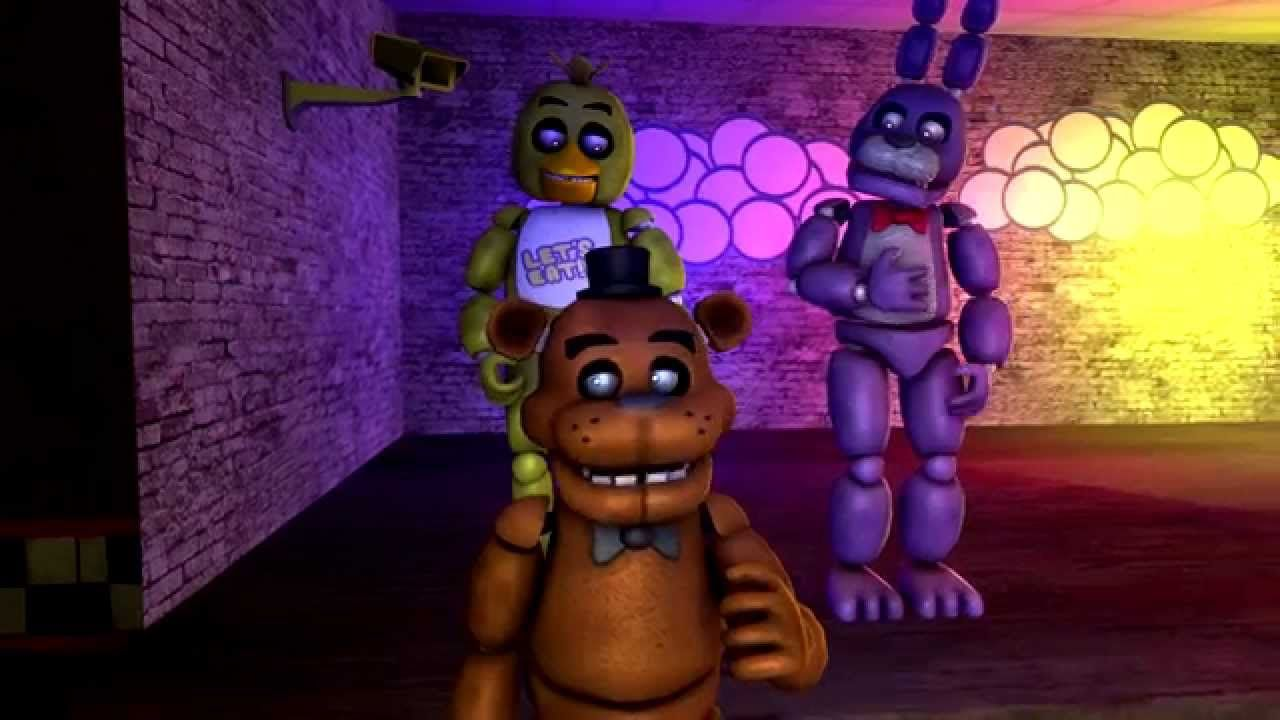 Мишка фредди и его друзья картинки