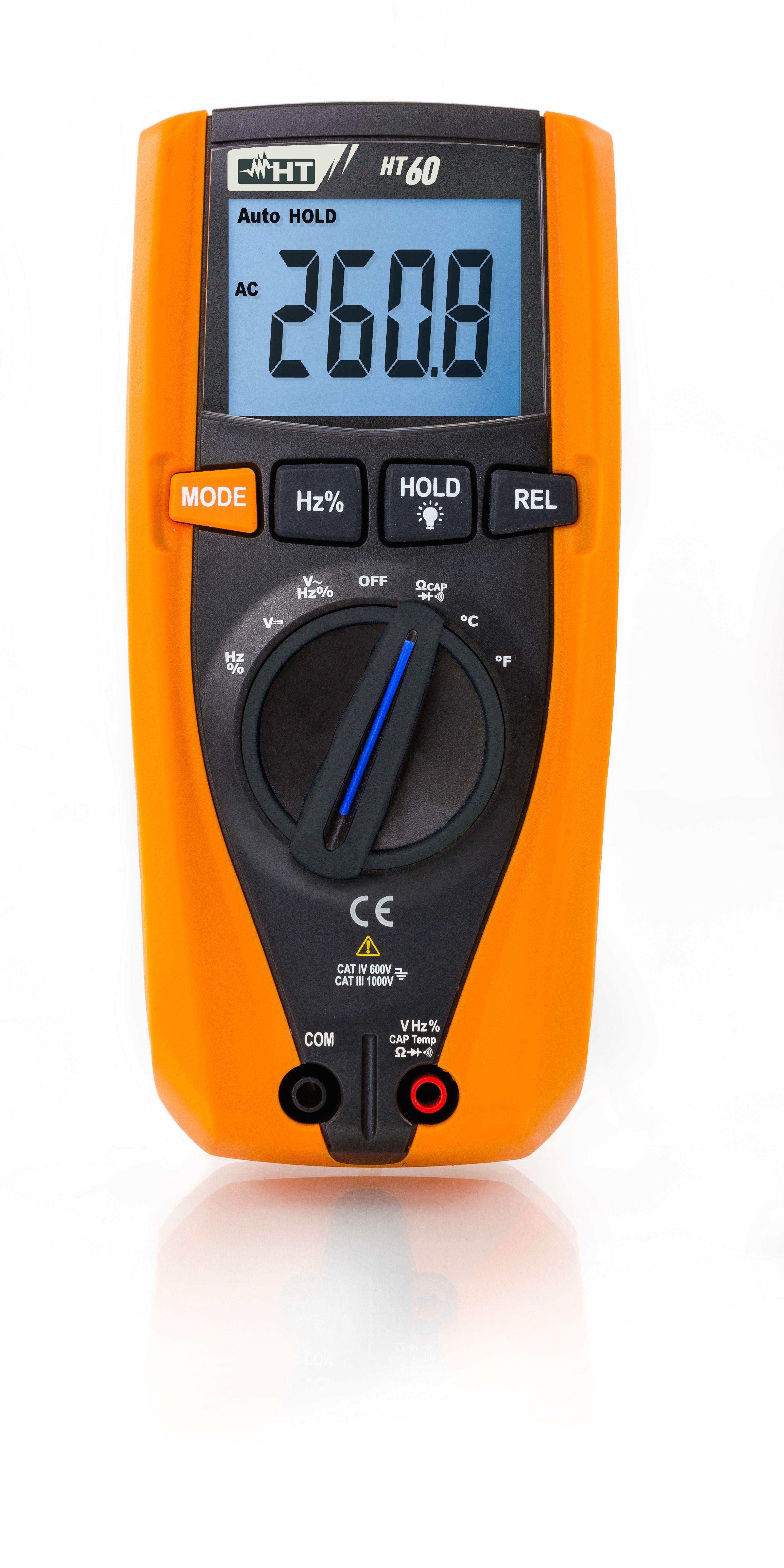 Ht60 Trms Multímetro Digital Trms Con Medida De Temperatura Con Sonda K La Nueva Serie De Multímetros Profesionale Instrumento De Medición Digitales Medidas De