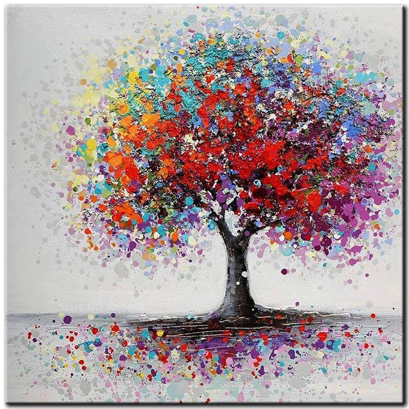 5D Diamond Painting Wealth Tree Rhinestone Embroidery DIY Cross Stitch new.