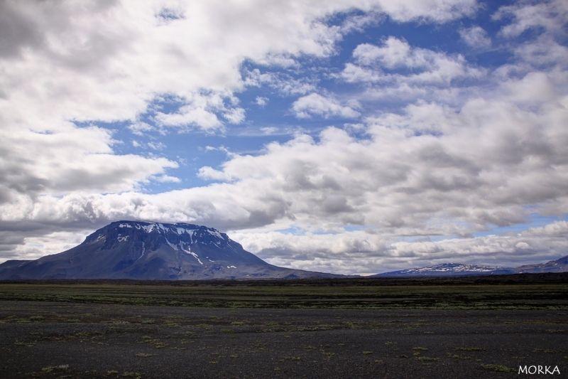 Montagne Herðubreið, Islande. #iceland  http://www.morka.fr