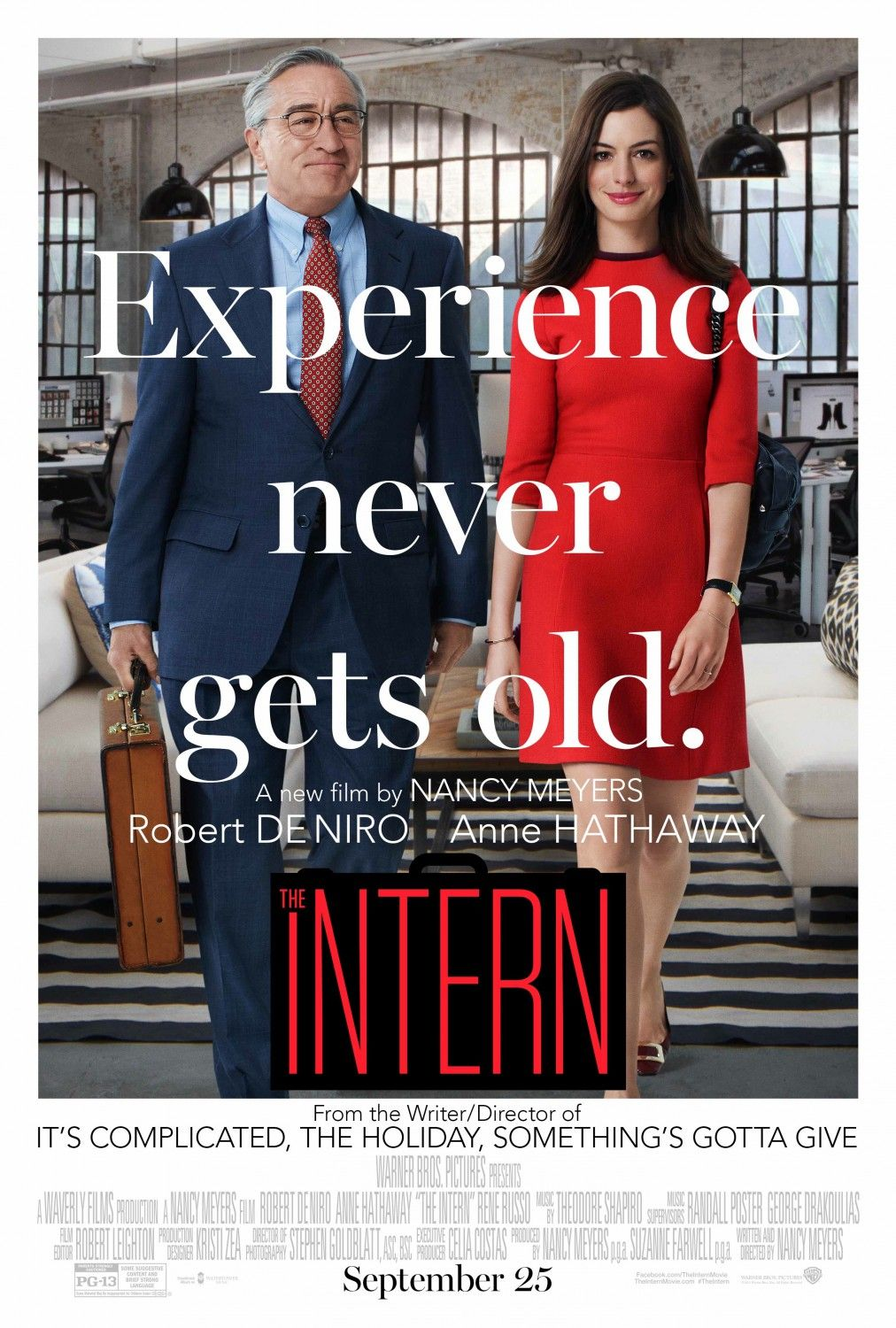 Return to the main poster page for The Intern