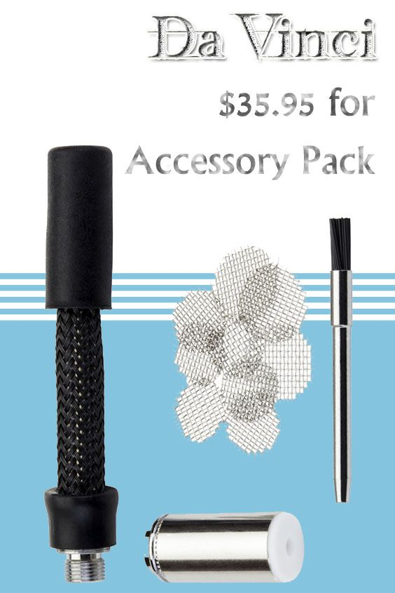 DaVinci Vaporizer is offering Accessory Pack at just $35.95. Place your order now and avail this deal. For more DaVinci Vaporizer Coupon Codes visit: http://www.couponcutcode.com/stores/davinci/